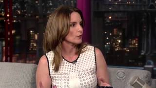 Tina Fey on David Letterman 21 August 2013]
