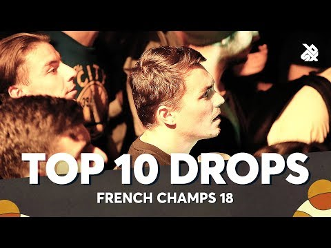 TOP 10 DROPS 😱 French Beatbox Battle 2018