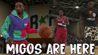 MIGOS are PLAYABLE in NBA Live 19!! Plus Exclusive BAPE BACK!!