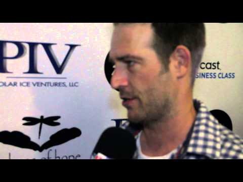 Michael Vartan on the Red Carpet at Luc Robitaille's Celebrity ...