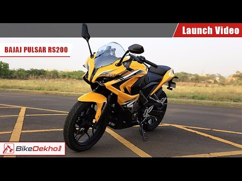 2015 Bajaj Pulsar RS 200 Launch Video