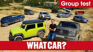Best 4x4s 2019 – What's the best off-roader you can buy? Jeep, Jimny, G-Wagen, & more   What Car?