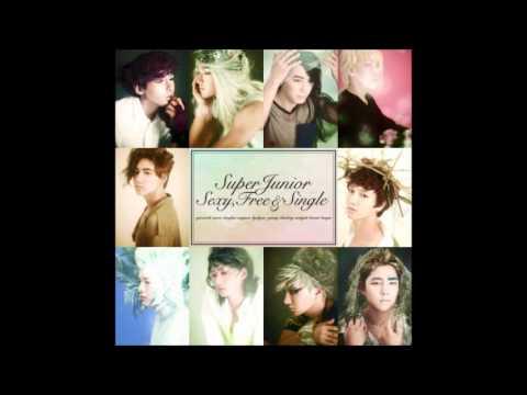 Super Junior - Sexy, Free & Single (Japanese Version)