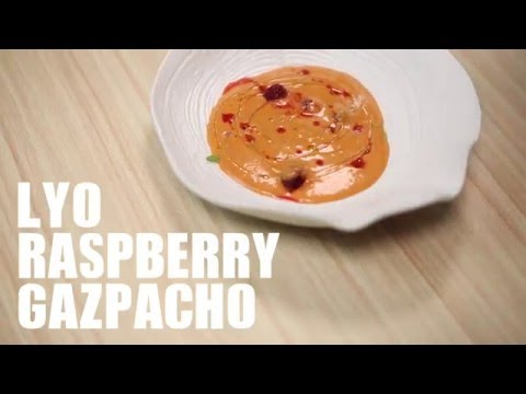 Lyo Raspberry Gazpacho Recipe