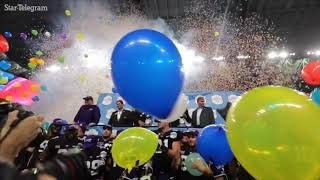 TCU celebrates Alamo Bowl win over Stanford
