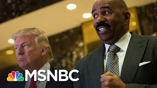 Steve Harvey: Donald Trump Was 'Sincere' Regarding Concerns About Inner Cities | MSNBC