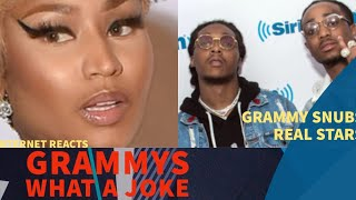 Nicki Minaj Migos and Tay Keith ALL SNUBBED By Grammys and Kevin Hart SHAMED FOr Joking WOW