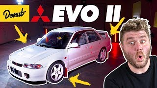 This is the Mitsubishi you forgot about: Lancer Evo 2