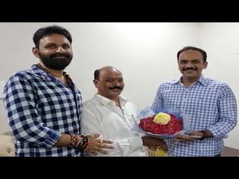 Minister Kodali Nani and Vangaveeti Radha meet at function in Gudivada