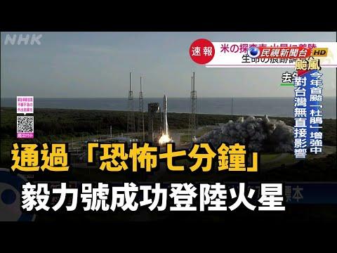 通過「恐怖七分鐘」 毅力號成功登陸火星-民視新聞