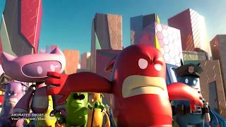 de Blob 2 - Rocket Escape Cinematic Trailer | HD