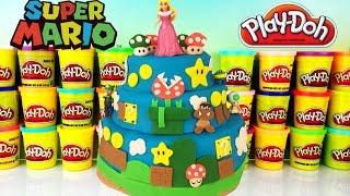SUPER MARIO Play Doh Surprise Cake! Kidrobot BFFS! !