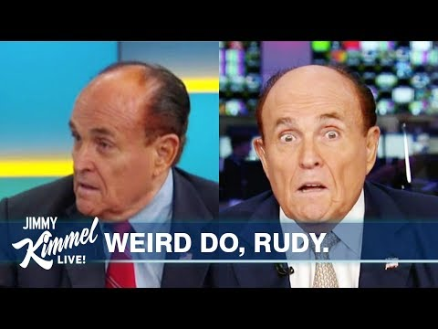 We Need to Talk About Rudy Giuliani's Hair