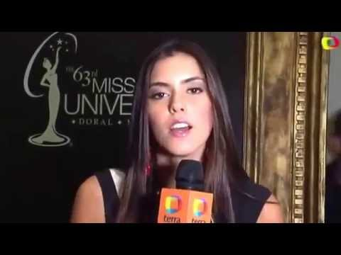 Entrevista Paulina Vega Miss Universo 2015