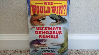 who would win Ultimate dinosaur Rumble read aloud