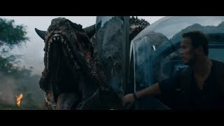 NEW TRAILER JURASSIC WORLD FALLEN KINGDOM CLIP / CHRIS PRATT / CARNOTAURUS/ OWEN GRADY / T-REX