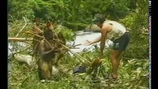 Tribe meets white man for the first time - Original Footage (1/5)
