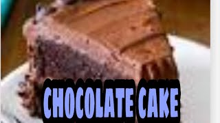 LEARN HOW TO BAKE CHOCOLATE CAKe (so easy to prepare )