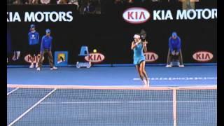 Ivanovic v Hantuchova: 2008 Australian Open Women's Semi Final Highlights