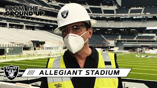 David Manica Gives an Exclusive Tour of Allegiant Stadium | From The Ground Up | Las Vegas Raiders
