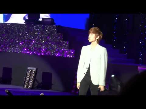 20120317-BoyFriend Fan Meeting in Taiwan-唱中文歌情非得已Cut1