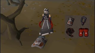 Skull tricking PvMers for bank
