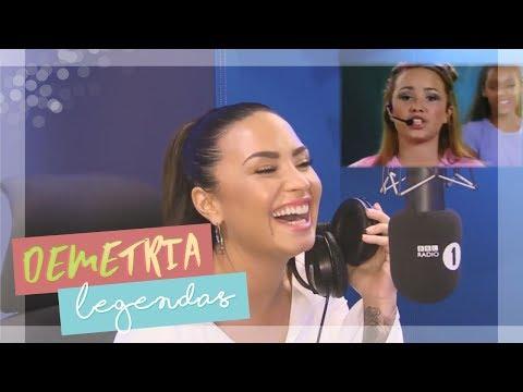 [LEGENDADO] Demi Lovato consegue lembrar de suas músicas?