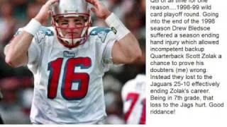 New England Patriots All-Time Quarterbacks