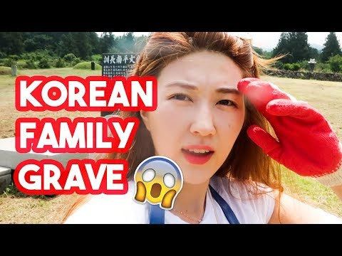 A look into a Korean Family Grave! [Jeju Travel Vlog]