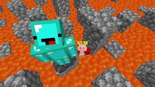 Minecraft, But Lava Rises Every 10 Seconds VS Technoblade