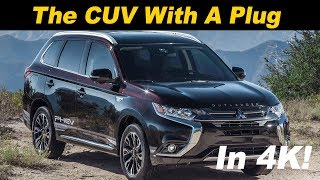 2018 Mitsubishi Outlander Plug In Hybrid Review and Road Test - In 4K