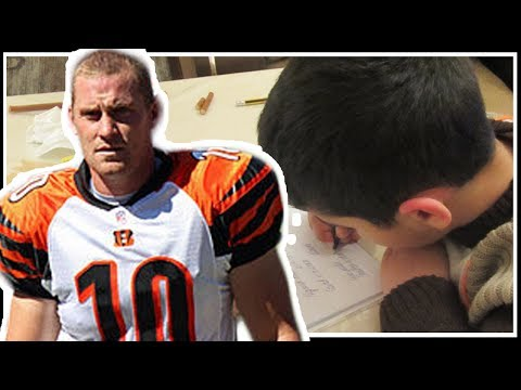 Bengals Punter Huber Broken Jaw - 7yo Boys Letter
