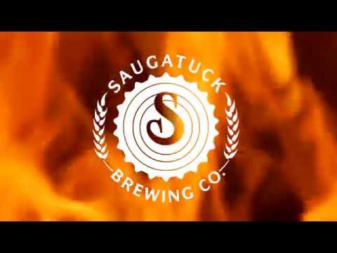Saugatuck Brewing Co. | Bonfire Brown | Bottling Line