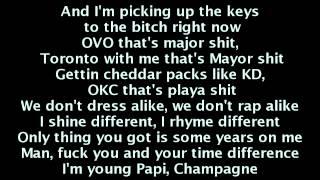 French Montana - Pop That (LYRICS) ft. Rick Ross, Drake & Lil Wayne