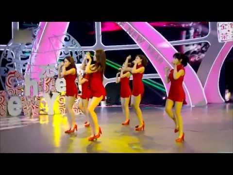 150219 T-ARA - Little Apple + Bo Peep Bo Peep @ Hunan TV Chinese New Year Special 2015