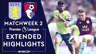 Aston Villa v. Bournemouth | PREMIER LEAGUE HIGHLIGHTS | 8/17/19 | NBC Sports