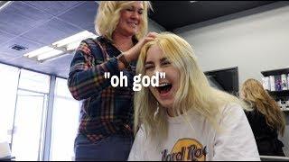 Hairstylist Fixes My Bleach Fail
