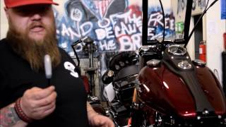 How To Install a Tank Lift on a Harley Dyna Model