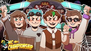 Spooky Minecraft Championship with DanTDM, Quig & Pearlescentmoon!