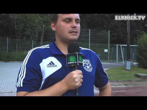 Josef Alpsoy (Sport-Obmann SVS Mesopotamien) und Jean-Pierre Richter (Trainer FC Süderelbe) - Die Stimmen zum Spiel (SVS Mesopotamien - FC Süderelbe, 3. Runde ODDSET-Pokal) | ELBKICK.TV