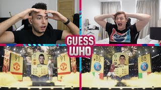 OUR HIGHEST RATED WALKOUT IN GUESS WHO FIFA 🔥 GUESS WHO vs CapGunTom