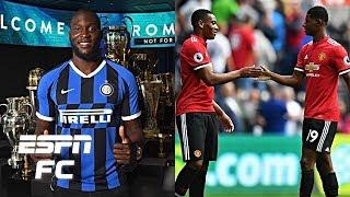 Has Romelu Lukaku's departure left Manchester United thin up front?   Premier League
