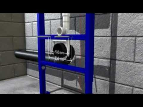 idealmaison montage toilette suspendu grohe rapid sl youtube. Black Bedroom Furniture Sets. Home Design Ideas