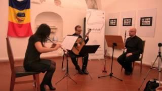 "Video 7bic3X7gLkg: Corniculum Festival - ArmoniEnsemble Guitar Trio, ""ESPERANTO"" (Ilio Volante)"