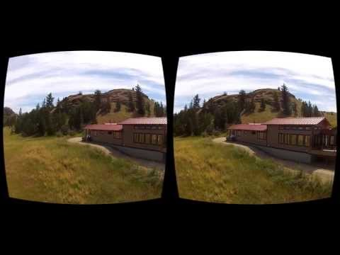 Oculus Rift 3D GoPro movie - Canada 08 Red Top House