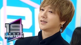 """YeSung """"I think you need to practice for over a year"""" [UNDER NINETEEN Ep 4]"""