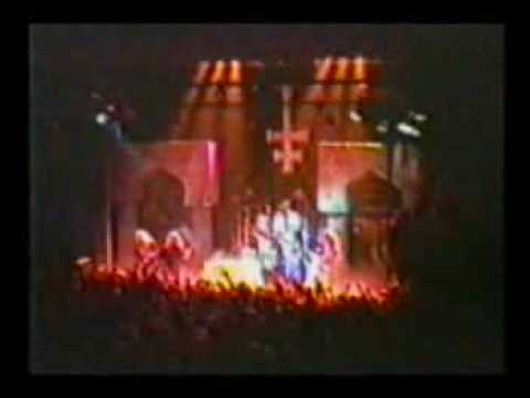 King Diamond Mercyful Fate Funeral & Arrival Live 1987
