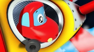 Into The Future   Little Red Car   Kindergarten Songs   Nursery Rhymes  For Kids by Kids Channel
