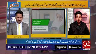 According to reports Children of 5th class can't read Urdu phrases : Raham Yousafzai | 14 Dec 2018