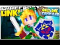 Minecraft | LINK! | Master Sword, Time Bombs & More! | Legend Of Zelda (Minecraft Custom Command)